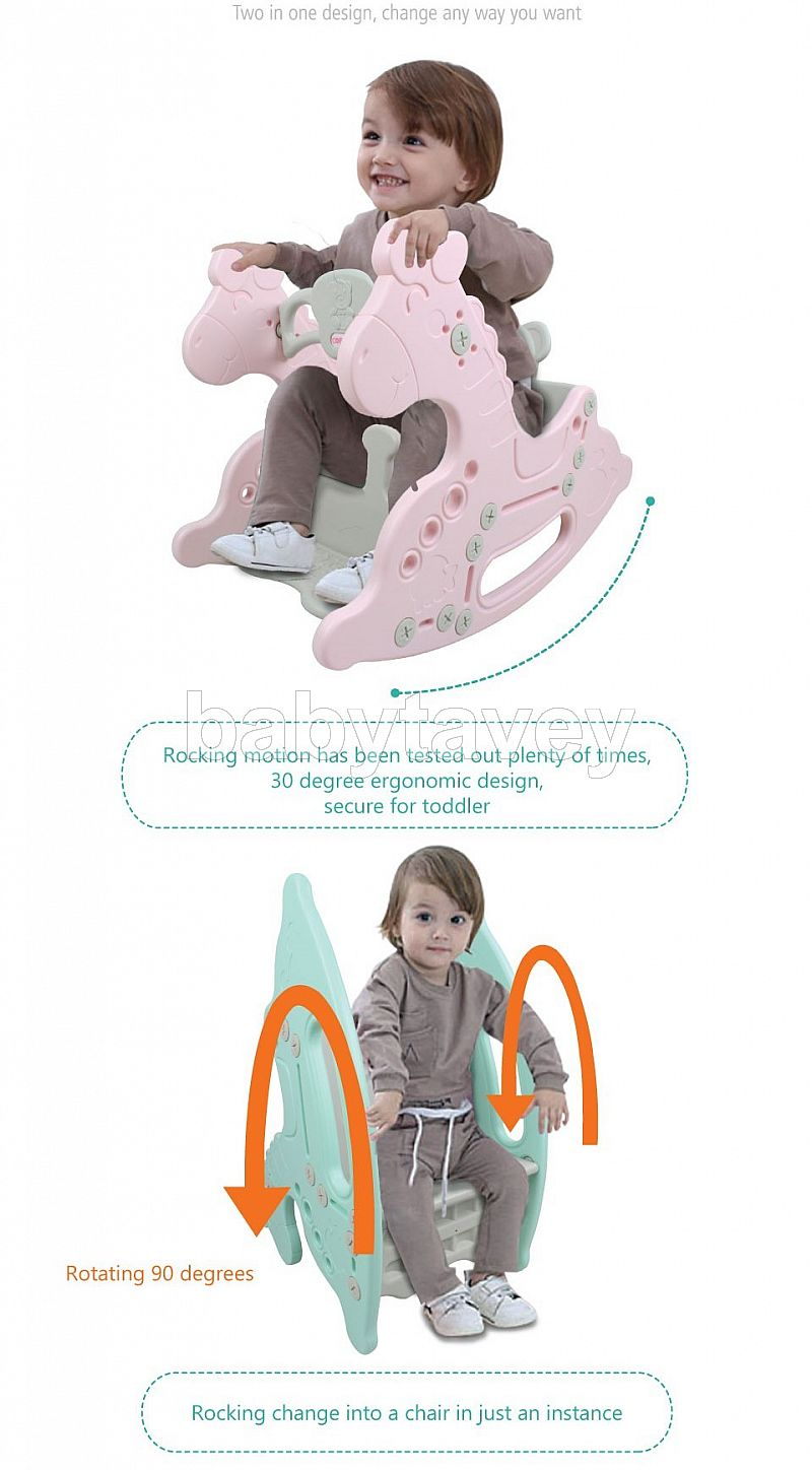 Coby Haus Lolly Gummy Rocking Horse